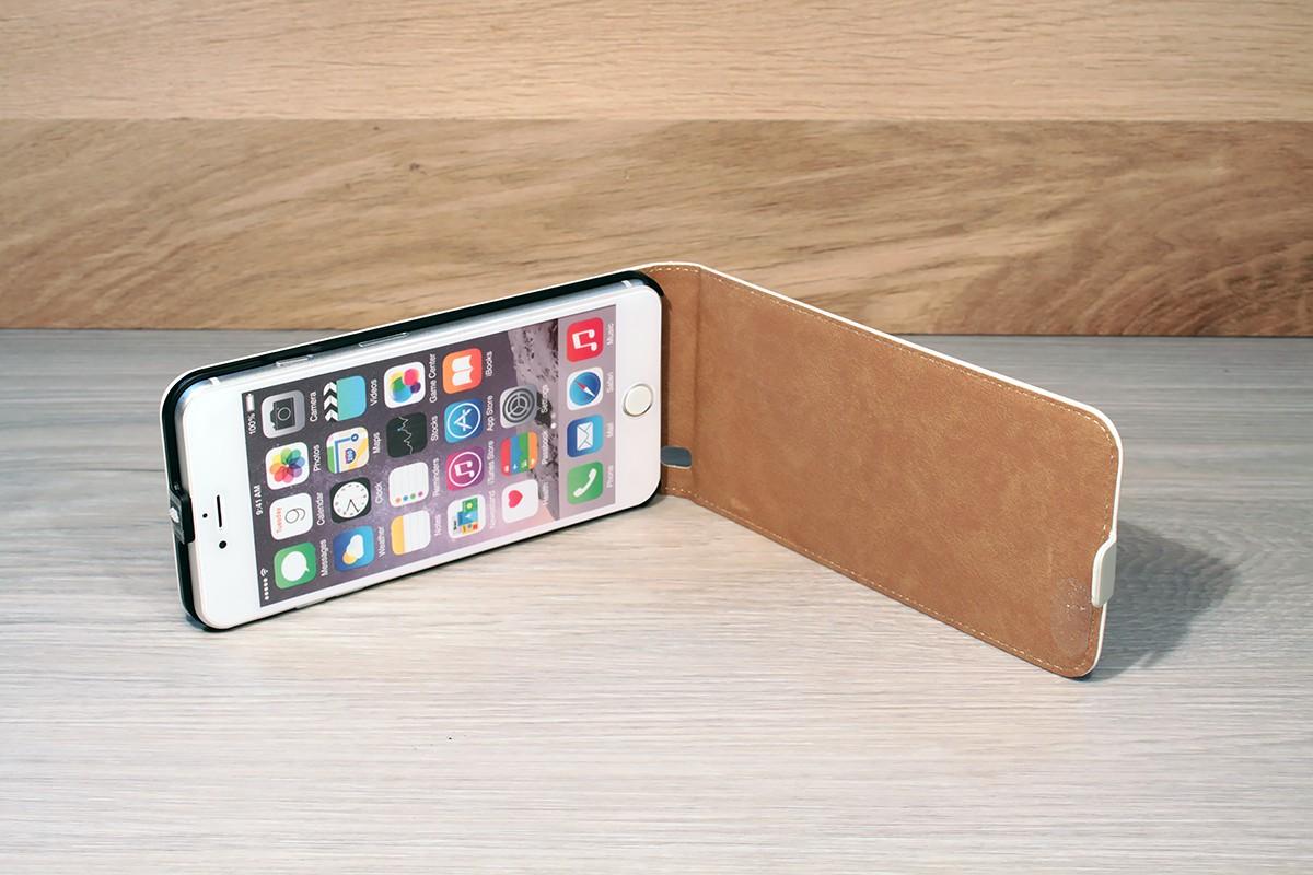 Etui personnalisé iphone 7 plus à clapet en cuir