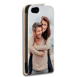 Etui iPhone 5/5s personnalisé à clapet en cuir