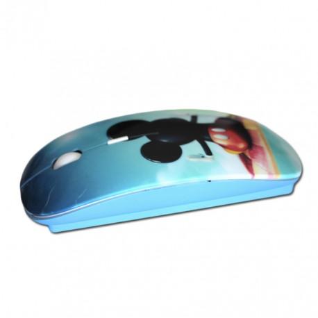 Lakokine blau anpassbare kabellose Maus