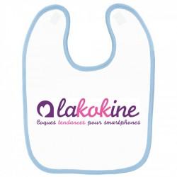 Bavoir personnalisé bébé lakokine