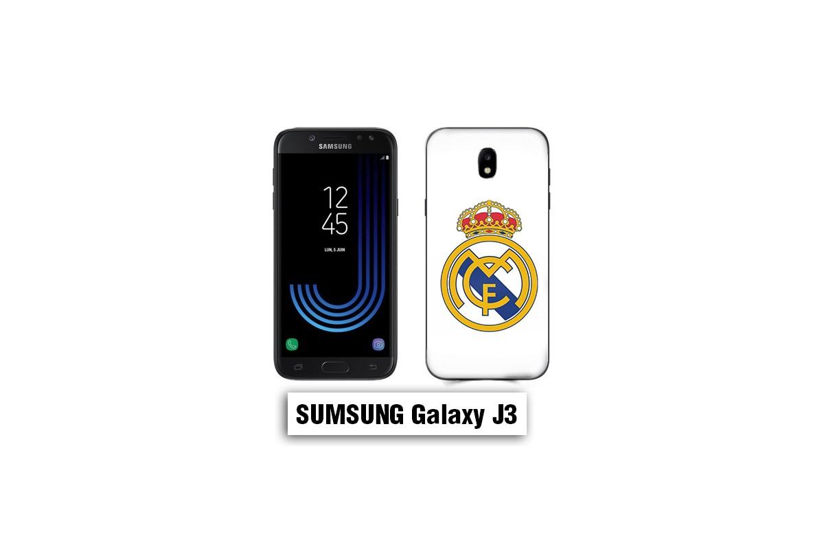 Coque Samsung J3 2017 Real Madrid foot logo - Lakokine