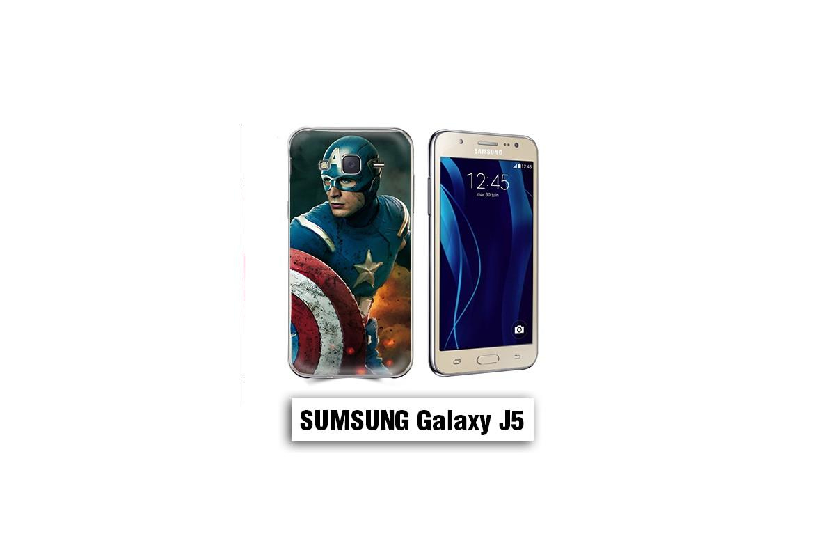 Coque Samsung J5 captain america avengers - Lakokine