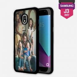 Coque Galaxy J3 2017 personnalisée avec côtés rigides unis
