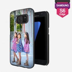Coque Galaxy S6 Edge personnalisée avec côtés rigides unis